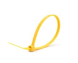 Кабельные стяжки желтые 4х200 (100 шт)