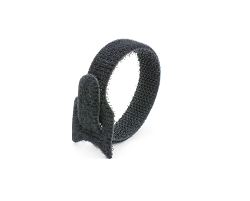 Кабельная стяжка липучка черная 16х310 (20 шт)