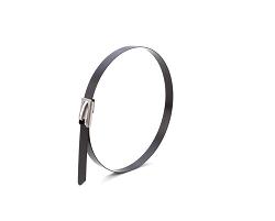 Стяжки кабельные стальные с полимерным покрытием 7,9х350 (50 шт)