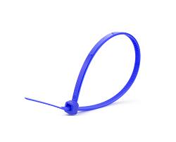 Кабельные стяжки синие 8х400 (100 шт)