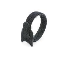 Кабельная стяжка липучка черная 16х210 (20 шт)