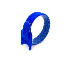 Кабельная стяжка липучка синяя 16х310 (20 шт)
